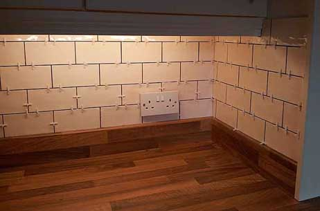 Kitchen Tiles Brick Style kitchen tiling projects durham tiling